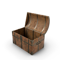 Medieval Sea Chest Open PNG & PSD Images