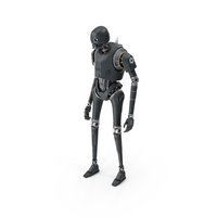 K-2SO Standing Pose PNG & PSD Images