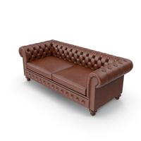 Chesterfield Tufted Sofa PNG & PSD Images