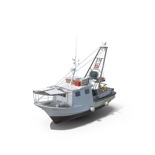 Fishing  Vessel Object