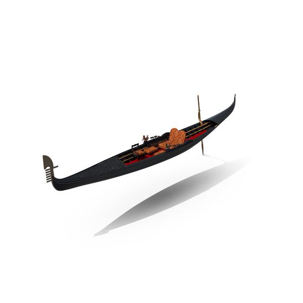Venetian Gondola Object