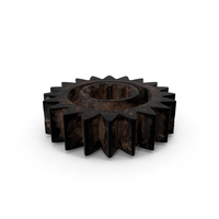 Small Dirty Gear PNG & PSD Images