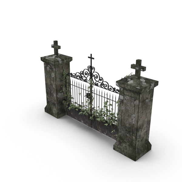 Cemetery Gate PNG & PSD Images