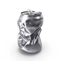 Crushed Beverage Can PNG & PSD Images