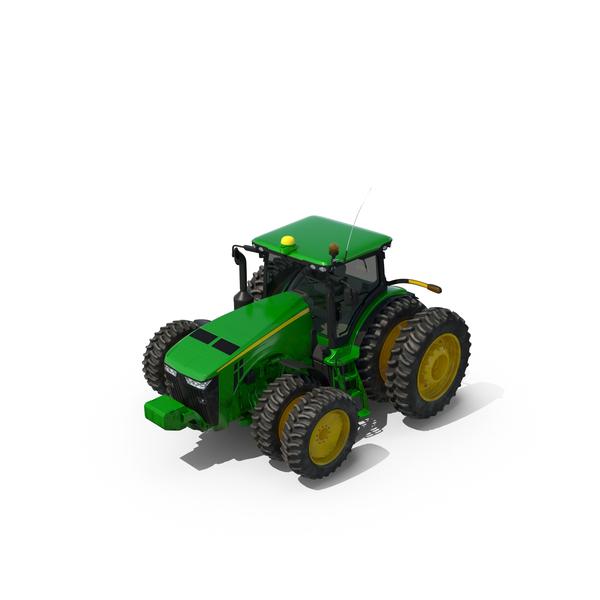 Tractor John Deere 8RT Object