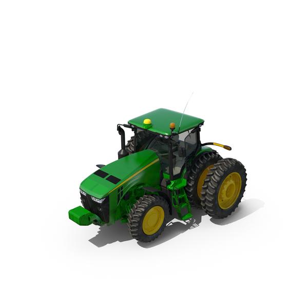 John Deere Tractor 8285R Object