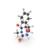 Methylphenobarbital Molecule PNG & PSD Images