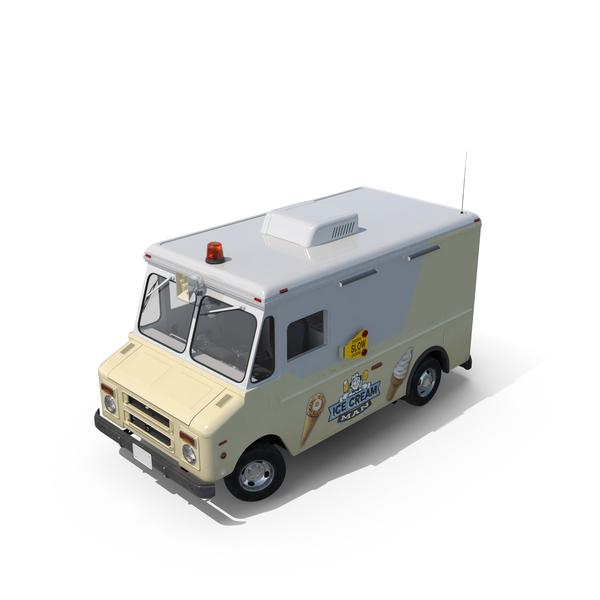 Ice Cream Truck Object