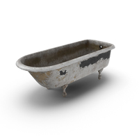 Dirty Bathtub PNG & PSD Images