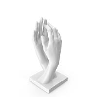 Auguste Rodin Hands Sculpture Plastic PNG & PSD Images