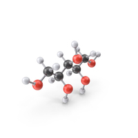 Xylitol Molecule PNG & PSD Images