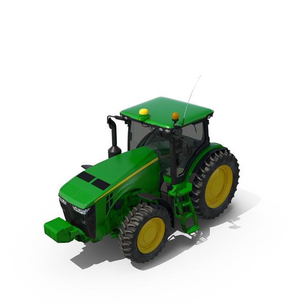 Tractor John Deere 8335R Object