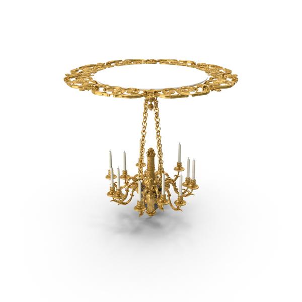 Baroque Chandelier Object