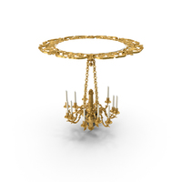 Baroque Chandelier PNG & PSD Images