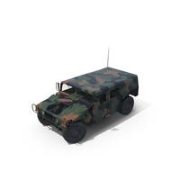 Troop Carrier HMMWV M1035 PNG & PSD Images