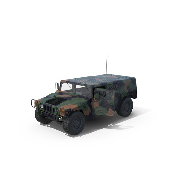 Troop Carrier HMMWV m1035 Object