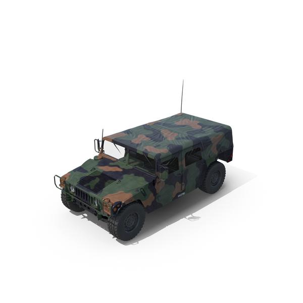 Troop Carrier HMMWV M1035 Door Open Object