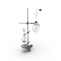 Mad Scientist Chemistry Set Tower PNG & PSD Images