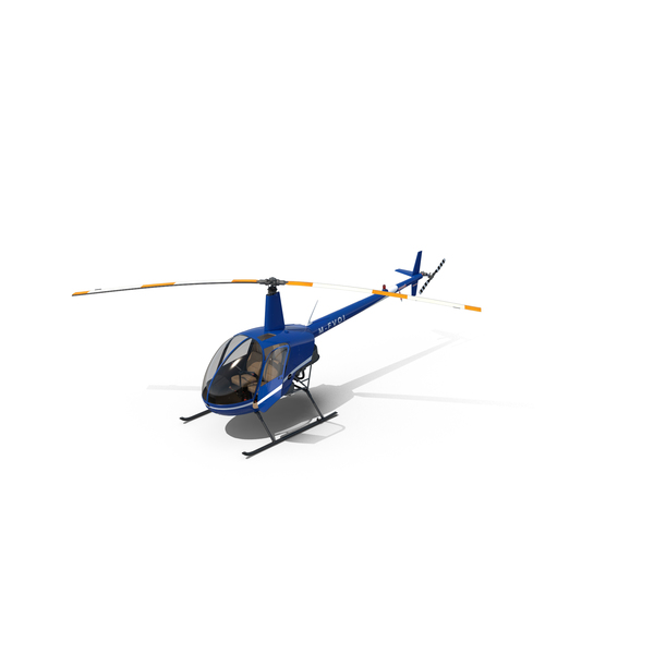 Helicopter Robinson R22 Object