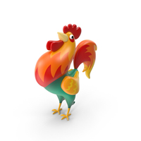Cartoon Rooster PNG & PSD Images