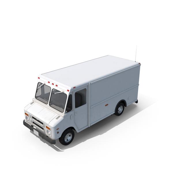 Post Office Truck Object