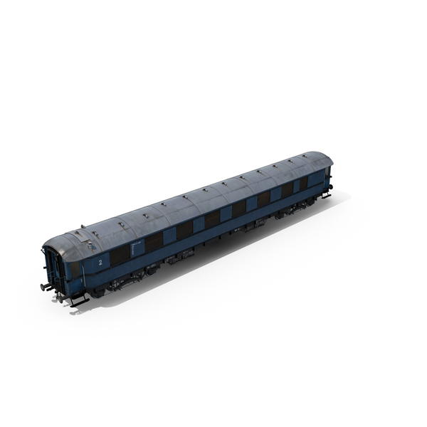 Passenger Train Car Object