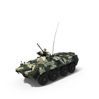 BTR 80A PNG & PSD Images