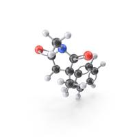Mesuximide Molecule PNG & PSD Images