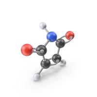 Maleimide Molecule PNG & PSD Images