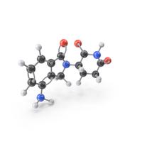 Lenalidomide Molecule PNG & PSD Images