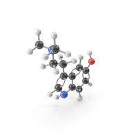 Bufotenin Molecule PNG & PSD Images