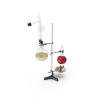 Chemistry Laboratory Equipment PNG & PSD Images