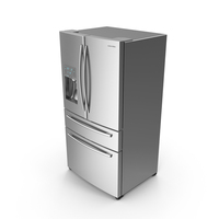 Samsung Stainless Steel Fridge PNG & PSD Images