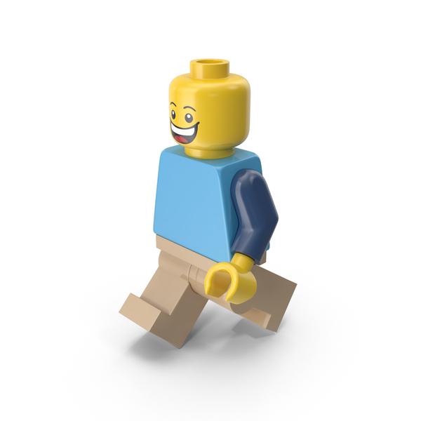 Lego Man Walking Object