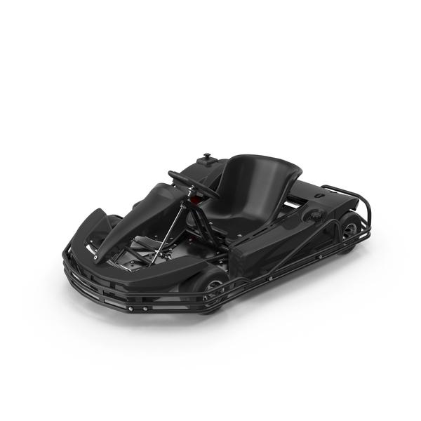 Rimo Black Kart Object