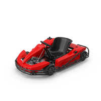 Rimo Red Kart PNG & PSD Images