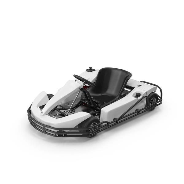 Rimo White Kart Object