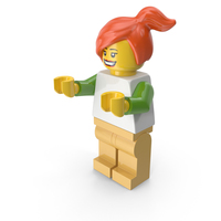 Lego Woman PNG & PSD Images