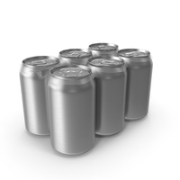 Six Pack of Cans PNG & PSD Images