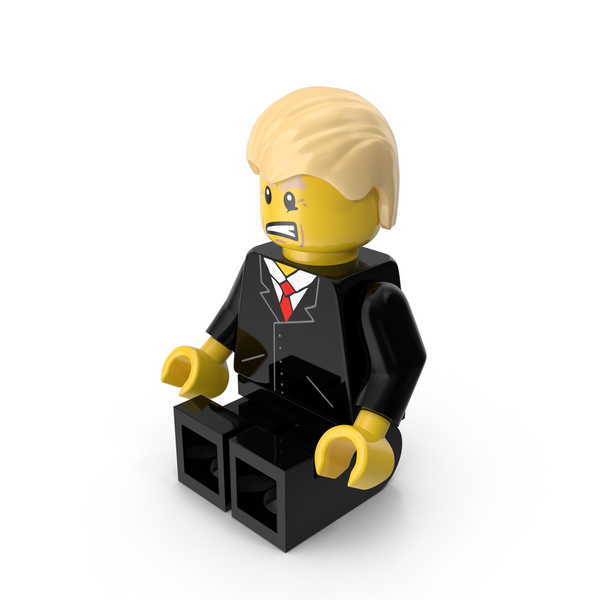 Lego Donald Trump Object