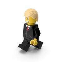 Lego Donald Trump Walking PNG & PSD Images