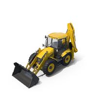 Jcb 4CX Backhoe Loader PNG & PSD Images
