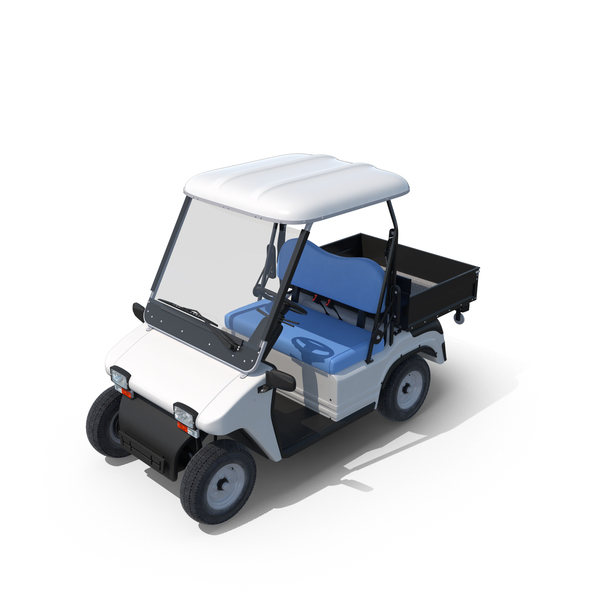 Melex Electric Golf Cart Object