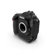Nikon D5 DLSR Camera Body PNG & PSD Images