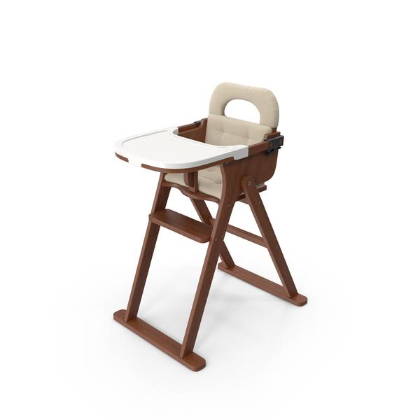 Svan Convertible High Chair PNG & PSD Images