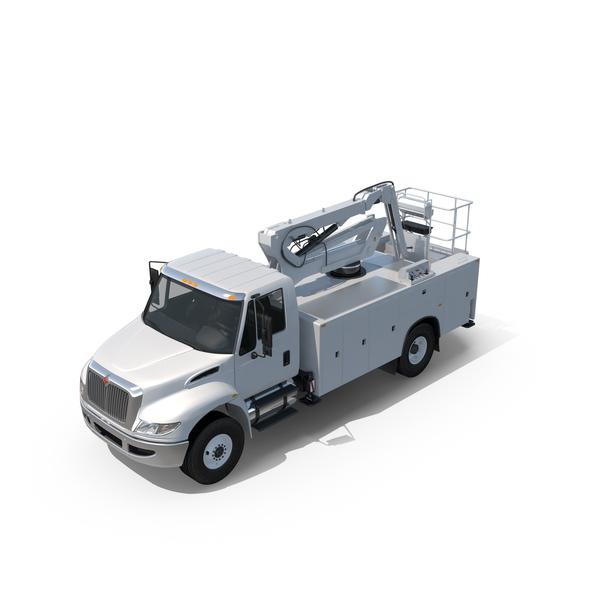 Cherry Picker Truck Object