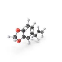 Safrole Molecule PNG & PSD Images