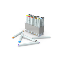 Sketch Markers PNG & PSD Images