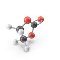 Ethylene Carbonate Molecule PNG & PSD Images