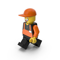 Lego Man Cashier PNG & PSD Images